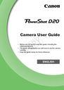 Canon D20 Manual