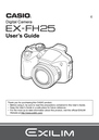 Casio EX-FH25 Manual
