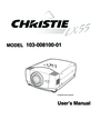 Christie Digital Systems 103-008100-01 User Manual
