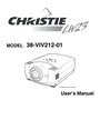 Christie Digital Systems 38-VIV212 User Manual