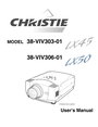 Christie Digital Systems 3308-VIV303-01 User Manual