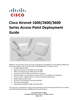 Cisco Systems 1600 Manual