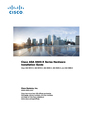 Cisco Systems ASA5512AW1YPR Manual