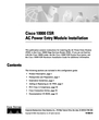 Cisco Systems Cisco 10000 ESR Manual