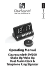 ClearSounds SW200 Manual