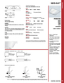 Cooper Lighting 142 Specifications