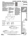 Cooper Lighting 332 Specifications