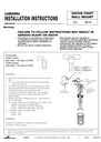 Cooper Lighting IMI-447 Installation Instructions