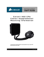 Corsair Marine H50 Manual
