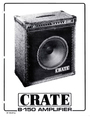 Crate Amplifiers B-150 Manual