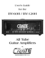 Crate Amplifiers BV-129H Manual