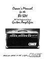 Crate Amplifiers BV-50H Owner Manual