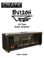 Crate Amplifiers BV120H Manual