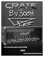 Crate Amplifiers BV300H Manual