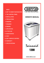 Defy Appliances 1300 Manual