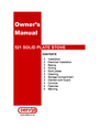 Defy Appliances 521 Owner Manual