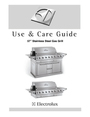 "Electrolux 57"" Gas Grill Manual"
