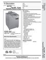 Electrolux 660080 Dimensions
