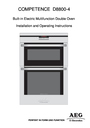 Electrolux D8800-4 Operating Instructions