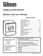 Electrolux - Gibson 134674800 Important Safety Instructions