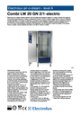 Electrolux LW 20 GN 2/1 Manual