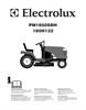 Electrolux PM1850SBH Instruction Manual