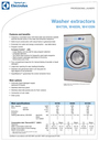 Electrolux W485N Specifications