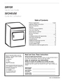 Frigidaire 131679000B Important Safety Instructions