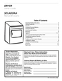Frigidaire 134672000A Important Safety Instructions