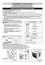 Frigidaire 2020211a1446 Installation Instructions