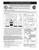 Frigidaire 318201725 Installation Instructions