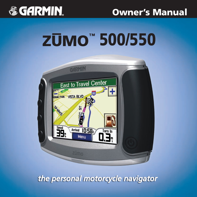 Garmin 500 Owner Manual