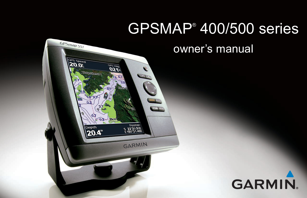 Garmin 451 Owner Manual