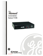 GE 0150-0255C User Manual