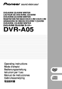 GE DVR-A05 Operating Instructions