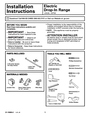 GE 131-10595-2 1-07 JR Installation Instructions