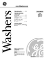GE WBSR3140 Owner Manual