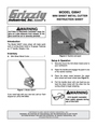 Grizzly G9947 Instruction Sheet