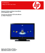 HP CPTOH-0707 Manual