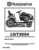 Husqvarna 07002 Owner Manual