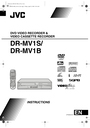 JVC DR-MV1B Manual