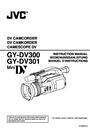JVC GY-DV300 Instruction Manual