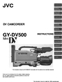 JVC GY-DV500 Instruction Manual
