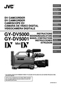 JVC GY-DV5001 Manual