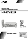 JVC HR-DVS2U Manual