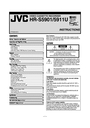 JVC HR-5911U Specifications