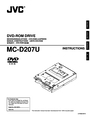 JVC MC-D207U Instruction Manual