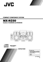 JVC MX-KC50 Manual