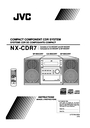 JVC NX-CDR7 Manual