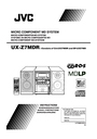 JVC SP-UXZ7MD Manual